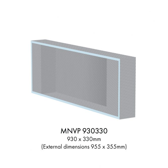 Marmox shower niche drawing