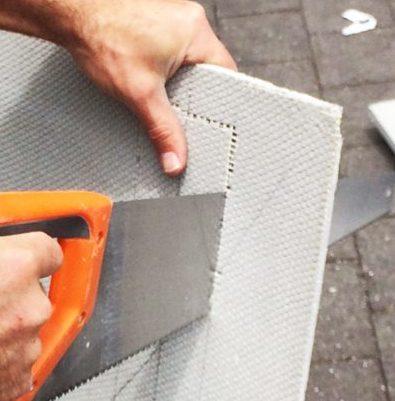 cutting a Marmox board   Marmox NZ
